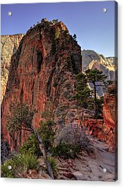 Hiking Angels Acrylic Print by Chad Dutson