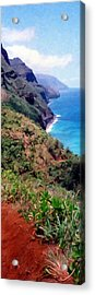 Trail To Kalalau Acrylic Print
