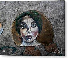 Hilda Acrylic Print by Ildiko Decsei