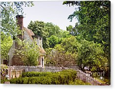 Hill Cottage Acrylic Print