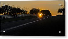 Hill Country Sunrise 2 Acrylic Print