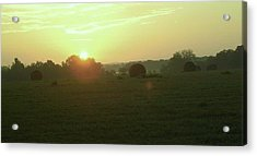 Acrylic Print featuring the photograph Hill Country Sunrise by John Glass