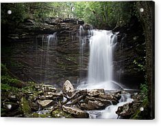 Second Fall Of Hills Creek Acrylic Print