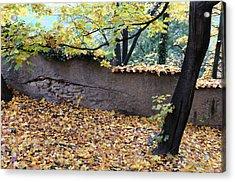Hill In Prague Acrylic Print by Gianfranco Evangelista