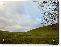 Acrylic Print featuring the photograph Hills And Sky by Felicia Tica