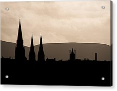 Hills And Spires Acrylic Print
