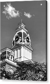 Hillsdale College Central Hall Cupola Acrylic Print by University Icons