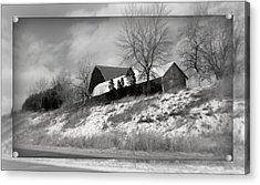 Hillside Farm Acrylic Print by Kay Novy