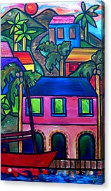 Hillside In St. John Acrylic Print