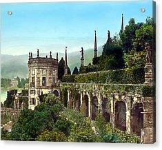 Hillside Mansion Acrylic Print