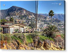 Hillside View Acrylic Print by Kevin Ashley