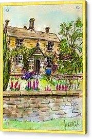 Hilltop Farm Acrylic Print