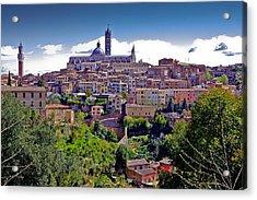 Hilltop Siena Acrylic Print