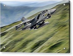Hilltop Tornado Acrylic Print by Peter Chilelli