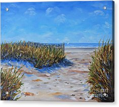 Hilton Head North End Acrylic Print