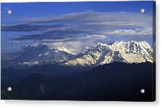 Himalaya Acrylic Print by Anonymous