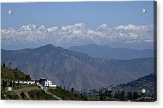 Acrylic Print featuring the photograph Himalayas I by Russell Smidt