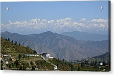 Acrylic Print featuring the photograph Himalayas II by Russell Smidt