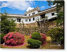 Himeji Castle Japan Acrylic Print by Fototrav Print