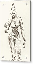 Hindu Goddess Sivakami Acrylic Print