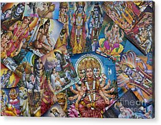 Hindu Posters Acrylic Print by Tim Gainey