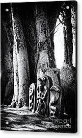Hindu Shrine Acrylic Print by Tim Gainey