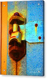 Hinged  Acrylic Print by Christiane Hellner-OBrien