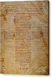 Hippocratic Oath Acrylic Print by Granger