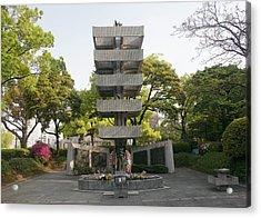 Hiroshima Memorial Acrylic Print