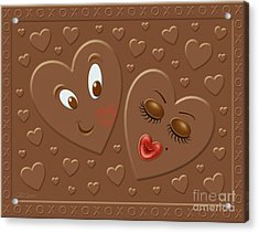 His And Hersheys Acrylic Print by Cristophers Dream Artistry