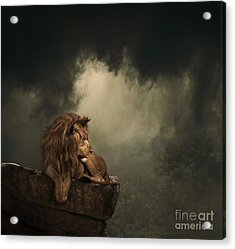 His Kingdom Acrylic Print by Lynn Jackson