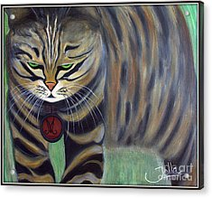 His Lordship Monty Acrylic Print