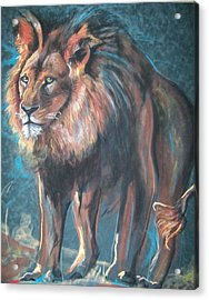 His Majesty Acrylic Print