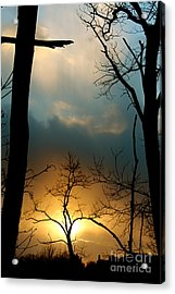 His Passion Acrylic Print