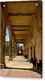 Historic Archways Acrylic Print