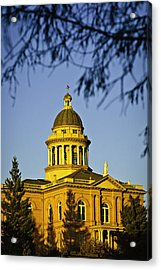 Historic Auburn Courthouse 5 Acrylic Print