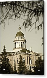 Historic Auburn Courthouse 6 Acrylic Print