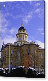 Historic Auburn Courthouse 7 Acrylic Print