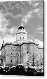 Historic Auburn Courthouse 8 Acrylic Print