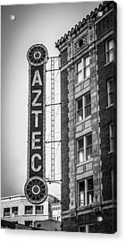 Historic Aztec Theater Acrylic Print