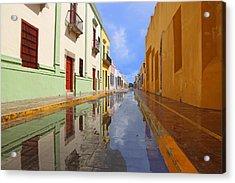 Historic Campeche Mexico  Acrylic Print