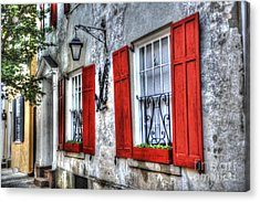 Historic Charleston Pirates House Acrylic Print