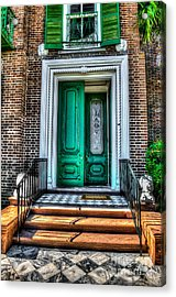 Historic Charleston Sc Door Acrylic Print