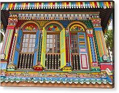 Historic Colorful Peranakan House Acrylic Print by David Gn