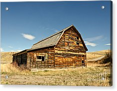 Acrylic Print featuring the photograph Historic Community Hall by Sue Smith