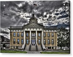 Historic Courthouse Acrylic Print by Jim Speth