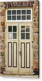 Historic Doors I Acrylic Print by Lisa Hurylovich