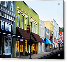 Historic Downtown Apex Acrylic Print