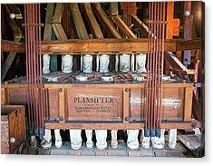 Historic Flour Mill Sifter Acrylic Print