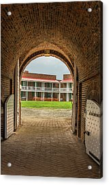 Historic Fort Mchenry, Birthplace Acrylic Print